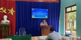 Chi bộ trường PTDTBT TH&THCS Trà Nam tổ chức sinh hoạt chuyên đề một số biện pháp tổ chức vận động và duy trì sĩ số học sinh tại xã Trà Nam huyện Nam Trà My tỉnh Quảng Nam